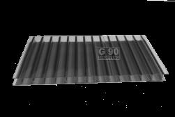 Chapa de Policarbonato Alveolar Fumê 2,10 x 6,00 mts 4mm
