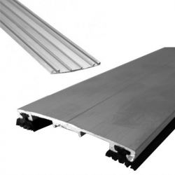Perfil Chato em Aluminio Natural - Barra de 6 metros